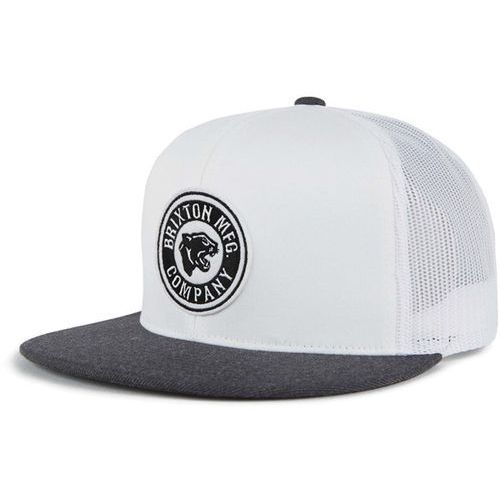 czapka z daszkiem BRIXTON - Forte Mp Mesh Cap White/Heather Charcoal (WHCHR), kolor biały