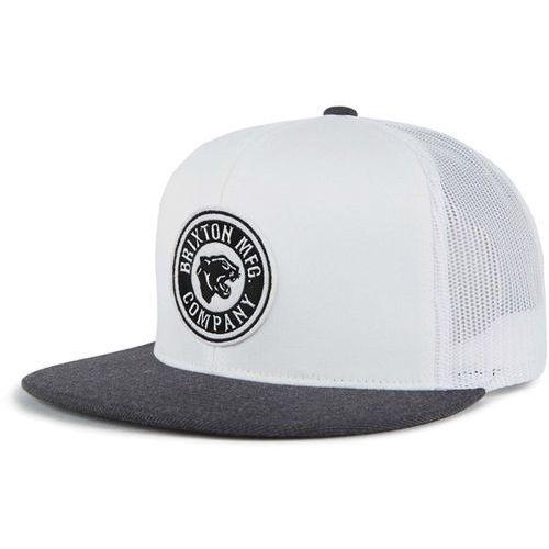 czapka z daszkiem BRIXTON - Forte Mp Mesh Cap White/Heather Charcoal (WHCHR) rozmiar: OS, kolor biały