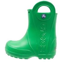 Crocs HANDLE IT RAIN BOOT KIDS Kalosze grass green, kolor zielony