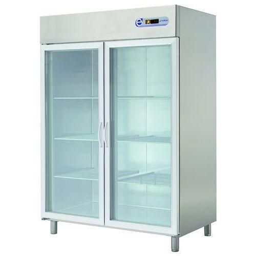 Szafa chłodnicza 1400l, przeszklona ECP-1402 GLASS