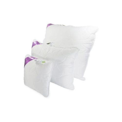 poduszka syntetyczna puchowa biała flora 40 x 40 marki Frankhauer