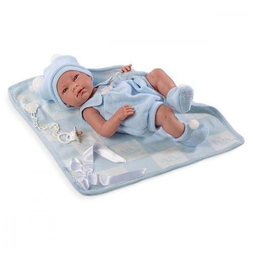 Lalka nico w niebieskim kostiumie 38 cm marki Llorens
