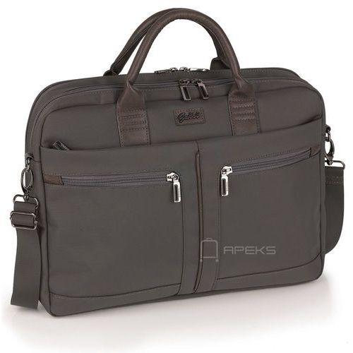 Gabol Dallas damska torba na laptopa 15,6'' i tablet 10'' / Gris - Gris