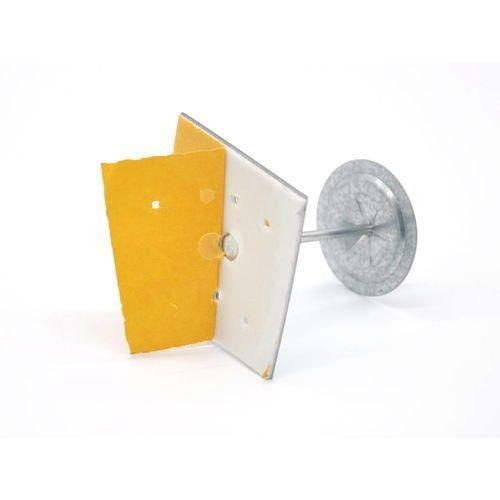 Zestaw - gwoździe samoprzylepne + klipsy - 100 sztuk długość [mm]: 53 mm marki Alnor