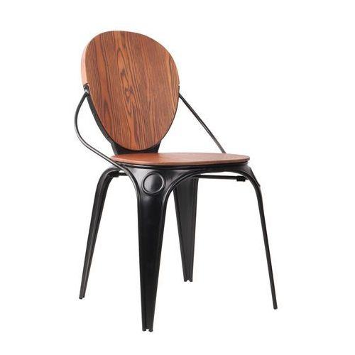 Zuiver Krzesło LOUIX antyczny czarny 1100159