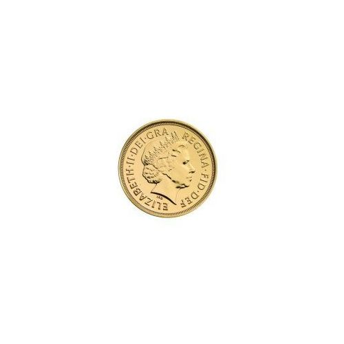 Brytyjski Suweren - Złota Moneta Rocznik 2016, towar z kategorii: Numizmatyka, filatelistyka