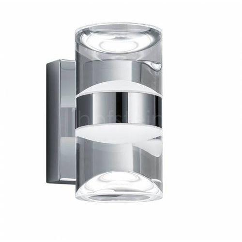 Trio 2827 lampa łazienkowa led chrom, 2-punktowe - nowoczesny - obszar wewnętrzny - brian - czas dostawy: od 6-10 dni roboczych marki Trio leuchten