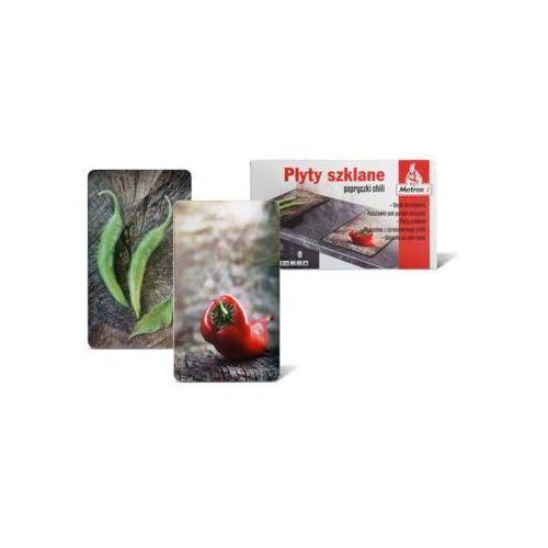 Metrox Płyta szklana papryczki chili