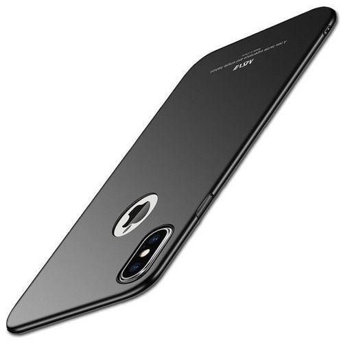 Etui MSVII iPhone X Black, kolor czarny
