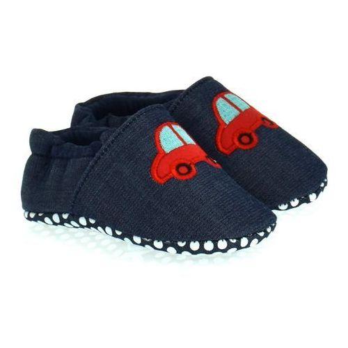 Buciki/niechodki dla dzieci Scorpio Granatowe - Granatowy, kolor niebieski