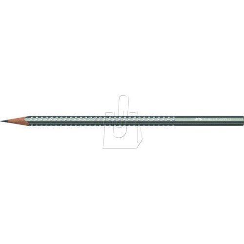 Ołówek Grip Sparkle Metalic srebrny Faber-Castell, 26861