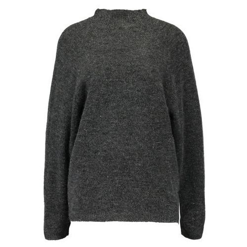Vila VICANT Sweter dark grey melange