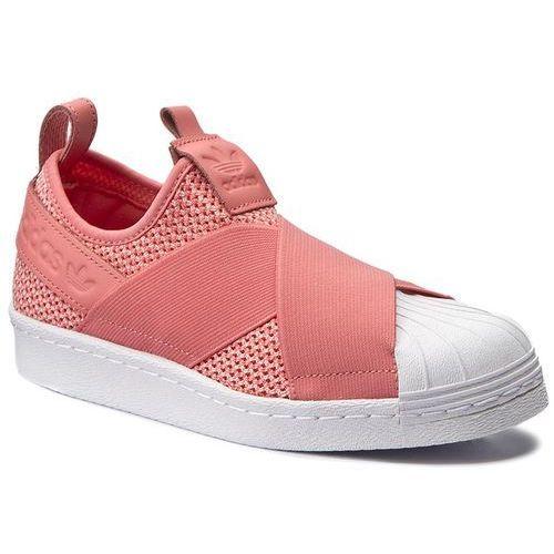 Buty adidas - Superstar SlipOn W BY2950 Tacros/Tacros/Ftwwht, kolor różowy