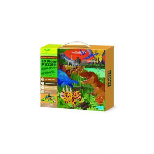 Puzzle 3d - dinozaury marki 4m