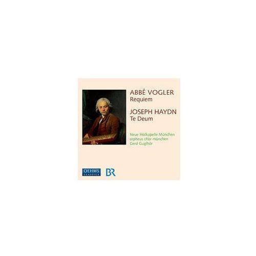 Haydn: Te Deum Hob Xxiiic: 2 / Vogler: Requiem In E - Flat Major (4260034869226)