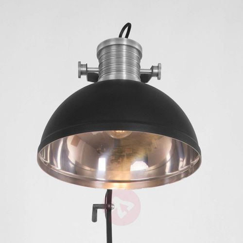 brooklyn lampa stojąca czarny, 1-punktowy - nowoczesny - obszar wewnętrzny - brooklyn - czas dostawy: od 6-10 dni roboczych marki Steinhauer