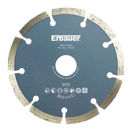 Erbauer Tarcza diamentowa segmentowa 125 mm