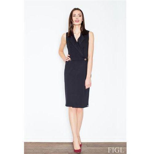 Sukienka model m443 black marki Figl