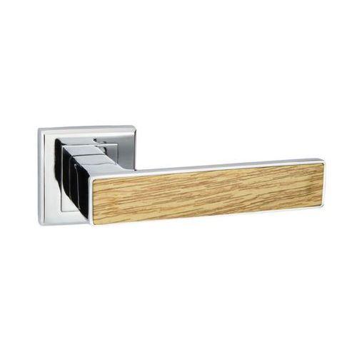 Schaffner Klamka drzwiowa liza chrom/sosna (5907467753515)