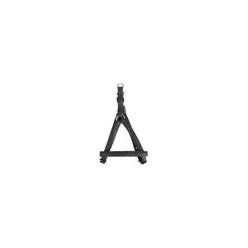 Zolux szelki regulowane mac leather 20mm czarne [522060no] (3484152206010)