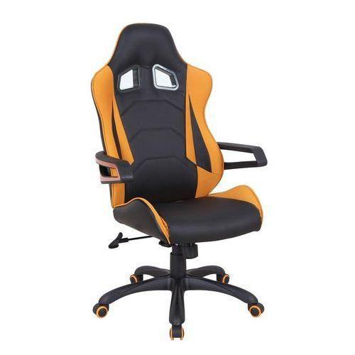 Fotel biurowy kubełkowy lub dla gracza - obrotowy HALMAR MUSTANG, Halmar