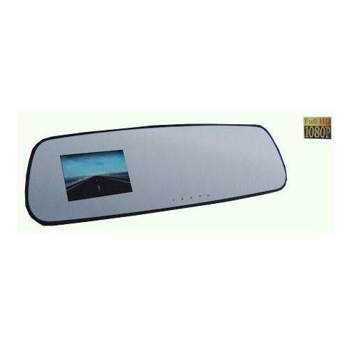 """MINIKAMERA z wbudowanym monitorem LCD 2,7"""", FULL HD 1080p, Rejestrator trasy wbudowany w samochodowe lusterko wsteczne, kamera samochodowa, Xblitz Mirror"""