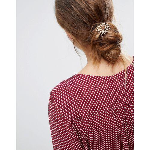 heart chakra hair clip - gold marki Orelia