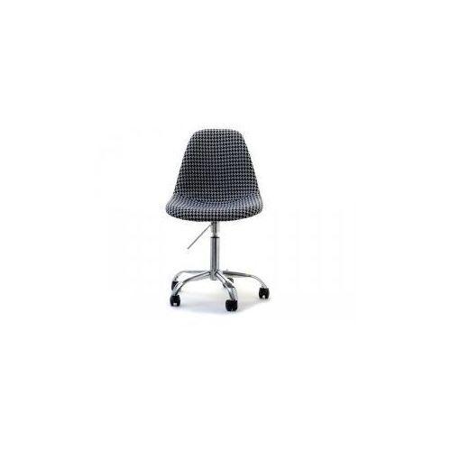 Krzesło Kosmetyczne Sardynia Tapicerowane Pepitka