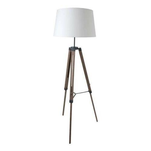 OCTAVE-Lampa podlogowa Statyw Drewno & Tkanina Wys.163cm (3663710197384)