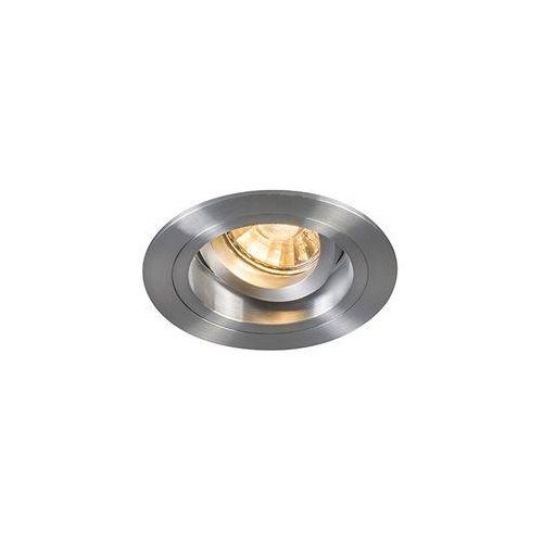 Oprawa do wbudowania chuck okrągła aluminium marki Qazqa