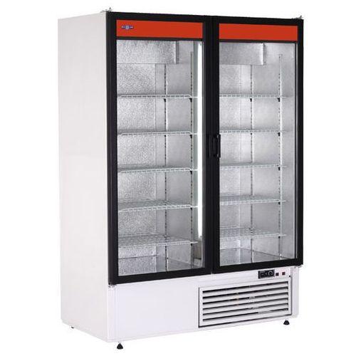 Szafa chłodnicza przeszklona, nierdzewna bez wentylatora 1108 l | RAPA, Sch-S 1400 2N