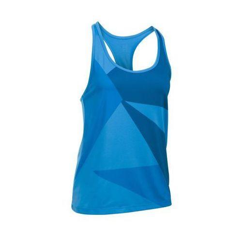 Under Armour Geo Run Tank - damska koszulka sportowa (niebieski)