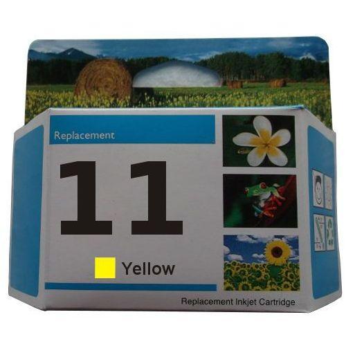 Zastępczy atrament hp 11 [c4838a] yellow 100% nowy marki Orink