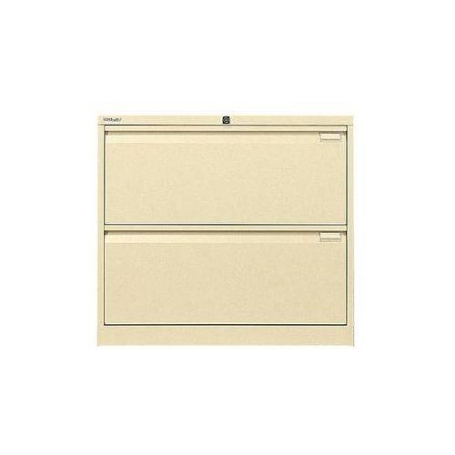 Szafka na kartotekę wiszącą, 2-torowa,2 szuflady, DIN A4