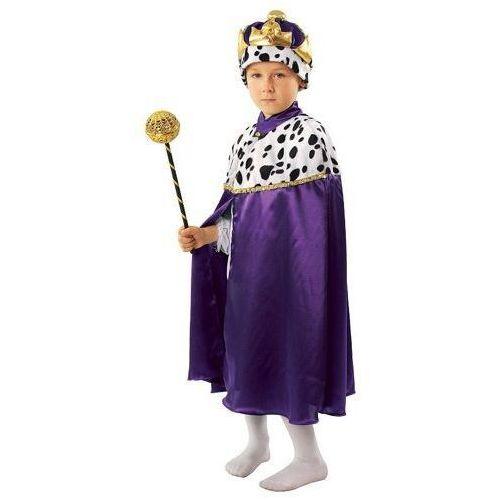 Strój król fioletowy kostiumy na jasełka - 110/116 wyprodukowany przez Gama ewa kraszek