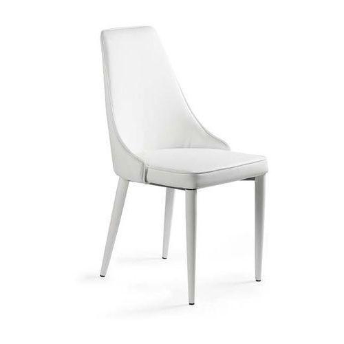 Krzesło setina biały kolor marki Unique