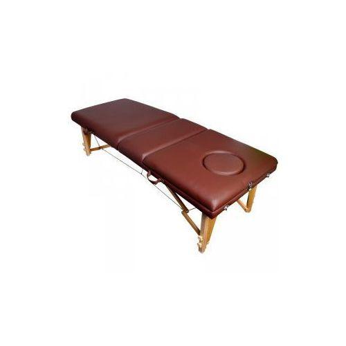 Stół składany do masażu komfort wood at-009-2 brown marki Vanity_a