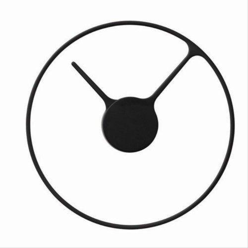 Zegar ścienny L, czarny - Stelton (5709846013568)