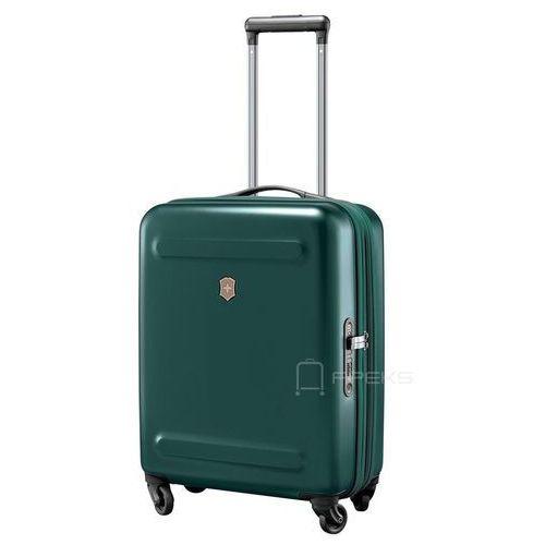 etherius mała poszerzana walizka kabinowa 23/55 cm / ciemnozielona - evergreen marki Victorinox