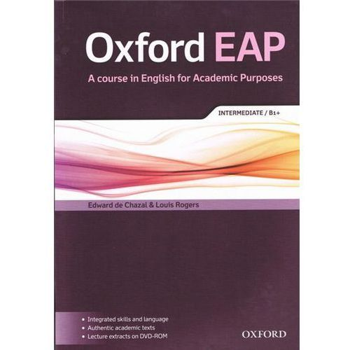 Oxford EAP: Intermediate/B1+: Student's Book and DVD-ROM Pac (9780194002011)