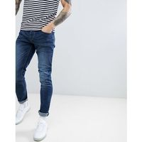French Connection Skinny Jeans - Navy, kolor szary