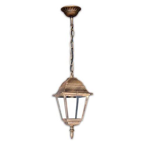 WYPRZEDAŻ - Lampa wisząca MILANO 1X60W E27 POLUX patyna z kategorii Lampy wiszące