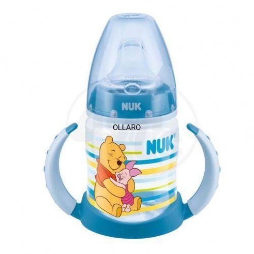 Butelka z uchwytami 150 ml NUK puchatek niebieski, 55F8-58607