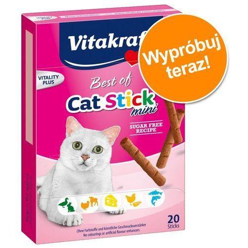 VITAKRAFT Best Of Cat Stick Mini-Przysmak dla kota- RÓB ZAKUPY I ZBIERAJ PUNKTY PAYBACK - DARMOWA WYSYŁKA OD 99 ZŁ (4008239288202)