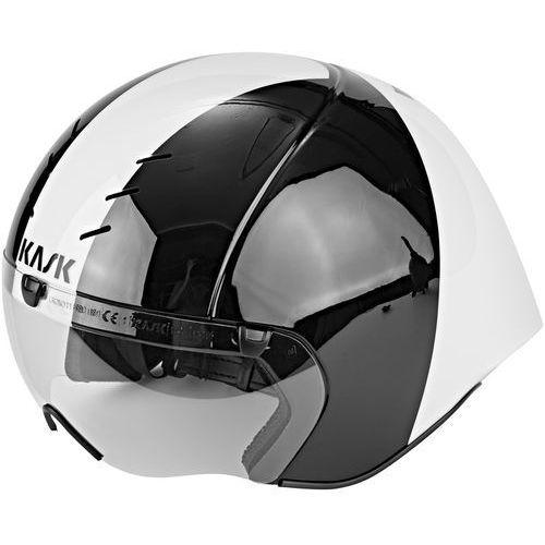 Kask Mistral Kask rowerowy biały/czarny L | 59-62cm 2018 Kaski triathlonowe (8057099118750)