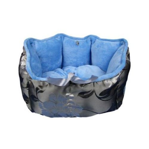 Sofa - ex mikrofibra srebro/niebieski marki Bigcats