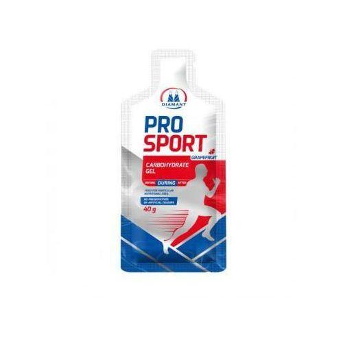 Żel energetyczny Pro Sport o smaku grejpfrutowym Diamant 40g