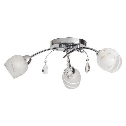Plafon lampa oprawa sufitowa Rabalux Melissa 3X60W E14 chrom 2621, 2621