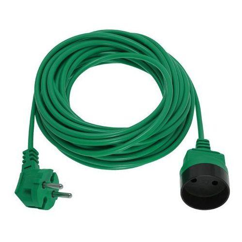 Przedłużacz kosiarkowy 1gn 20m bez uziemienia zielony 5902694551750 - - rabat w koszyku marki Kobi light