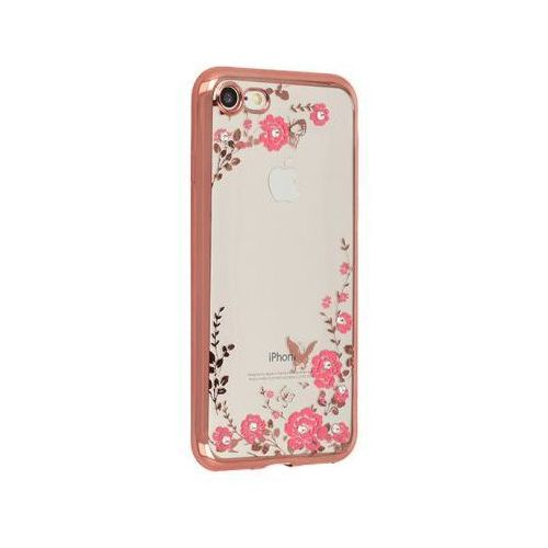 Futerał back case flower huawei p10 lite złoty róz marki Toptel
